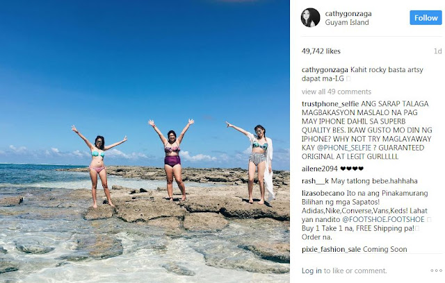 Alex Gonzaga Shows Off Her Stunning Beach Body While Vacationing at Surigao Del Norte