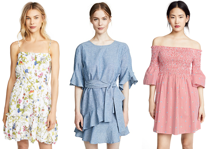 shopbop summer dresses under 100