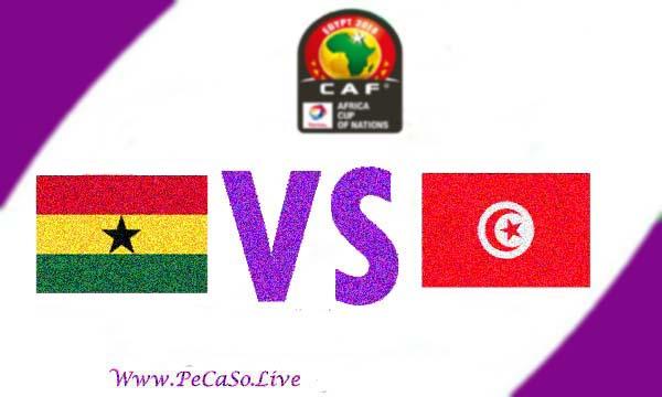 مشاهدة مباراة تونس وغانا بث مباشر 8-7-2019 Tunisia vs Ghana Live