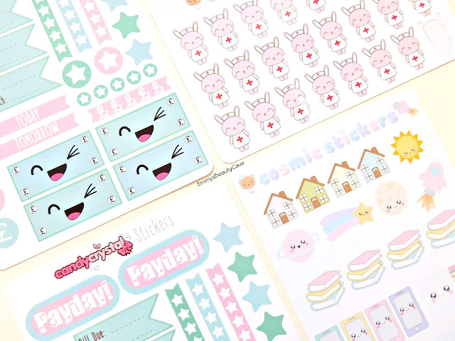 Payday Planner Stickers