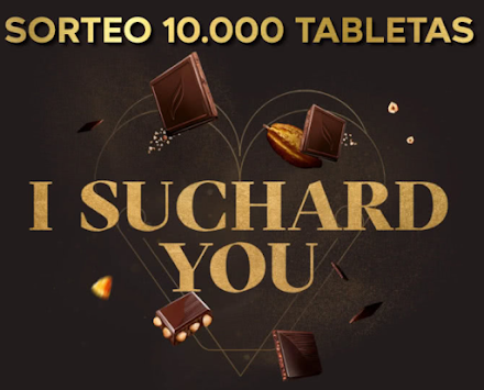 Sorteo 10.000 tabletas Suchard