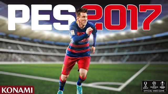 تحميل لعبة PES 2017 للكمبيوتر