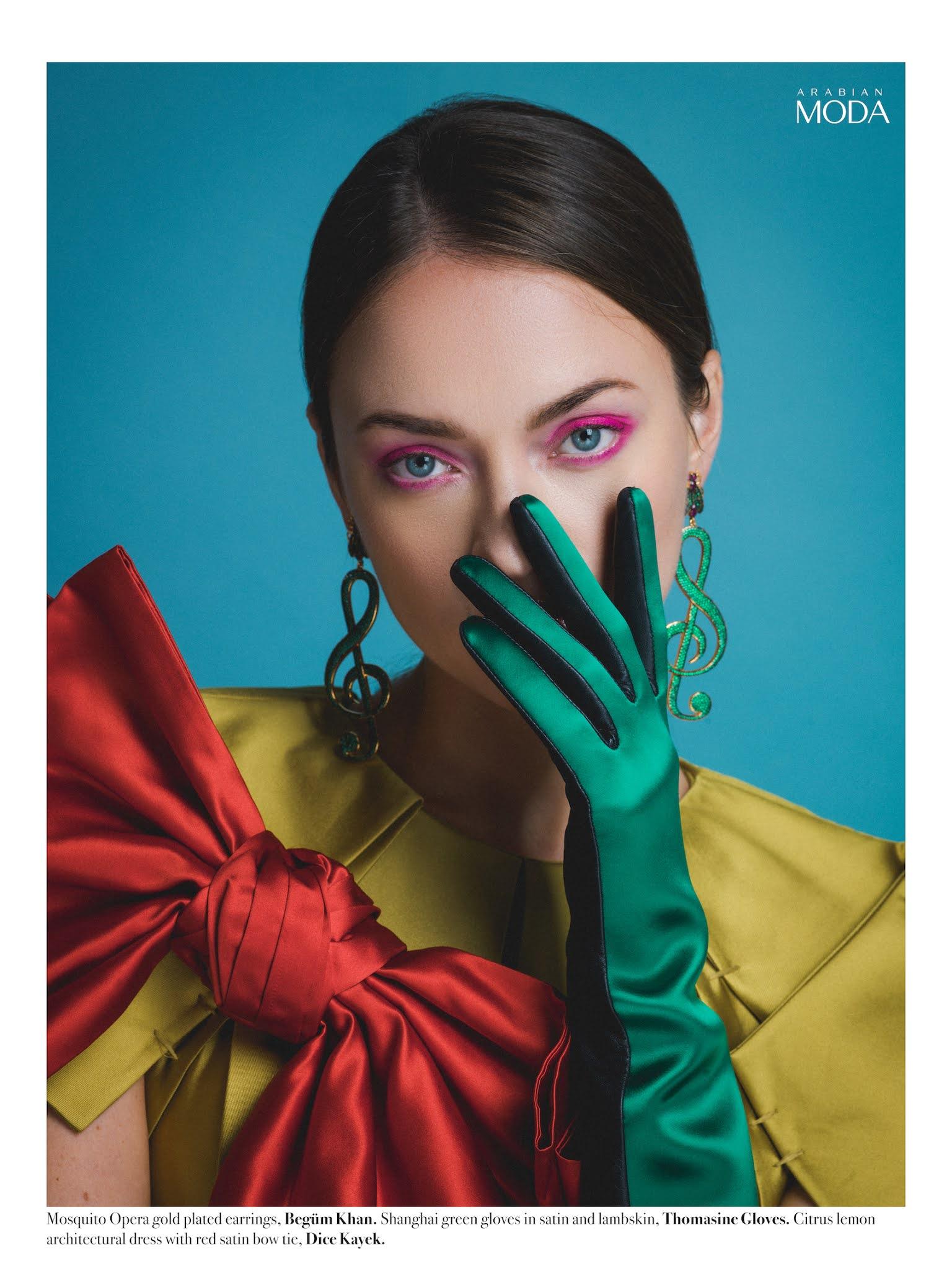 5- Arabian Moda x Begüm Khan x Thomasine Gloves x Dice Kayek
