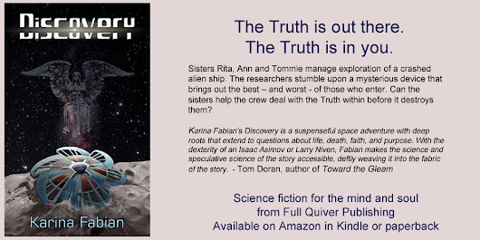 "The Theology of Science Fiction VI: Karina Fabian's ""Discovery"""