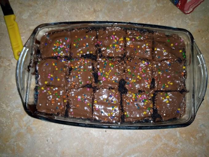 5 min Microwave Chocolate Brownie Recipe