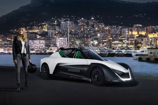 nissan electric vehicle bladeglider