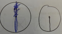 schoolkid maths fail scribbled radius