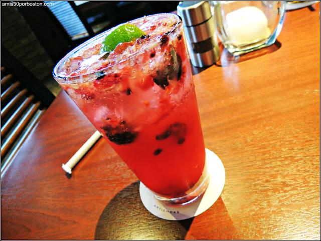 Bebida en uno de los Restaurantes que Participan en la Dine Out Boston