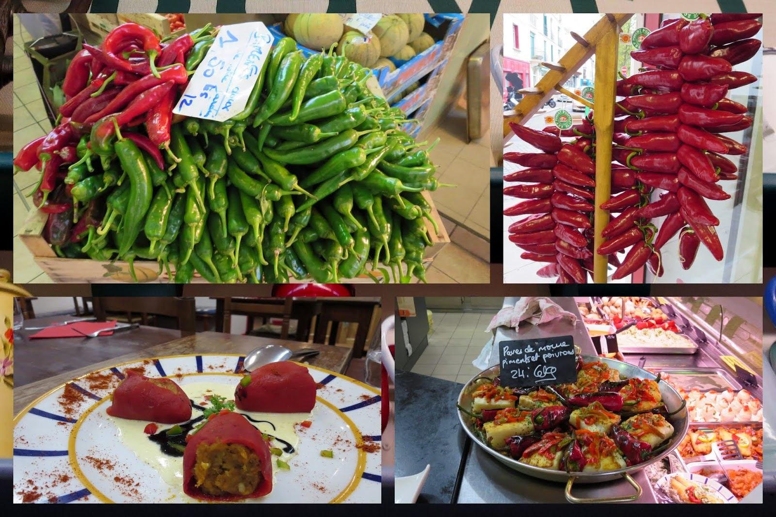 A Weekend in French Basque Country - Basque Peppers
