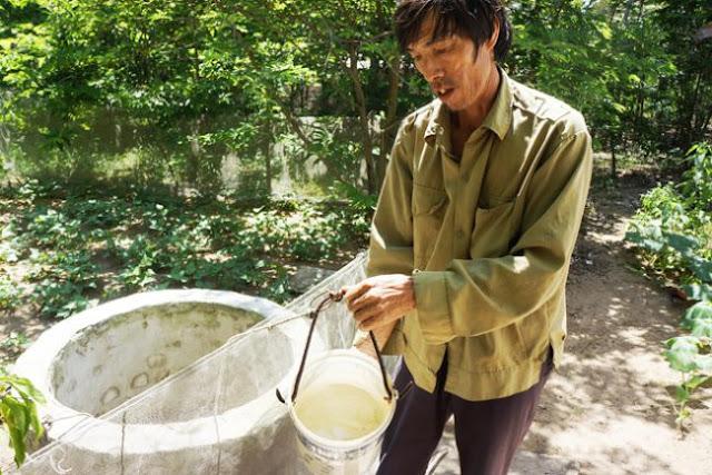 Quảng Ngãi Người dân lao đao vì hàng trăm giếng nước nhiễm mặn bất thường