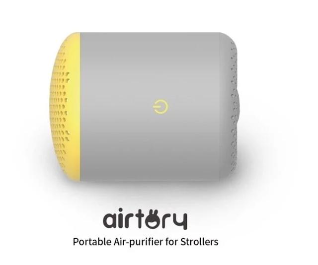 【新品】韓國 Airtory Stroller 便攜式空氣淨化器 嬰兒車或汽車都合用