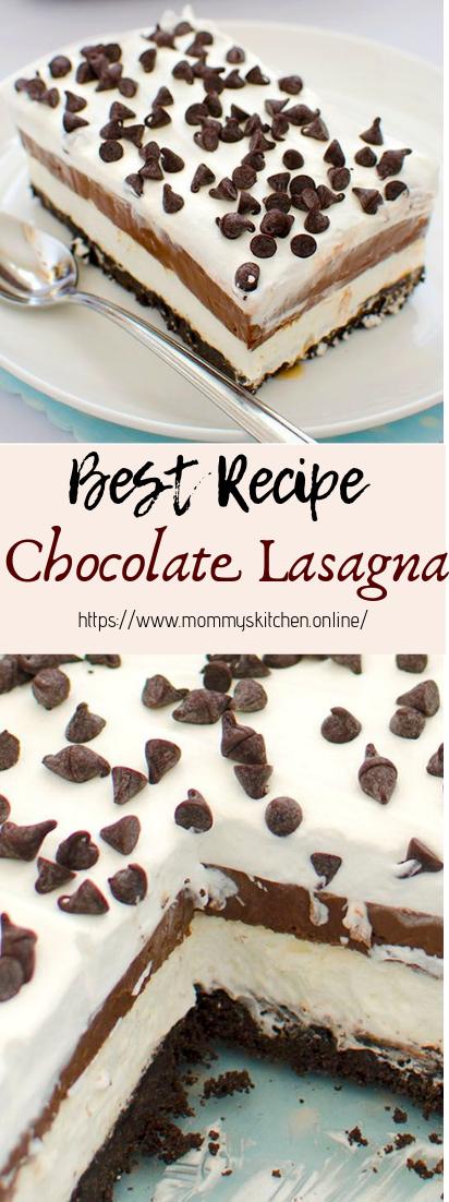 Chocolate Lasagna #desserts #cakerecipe
