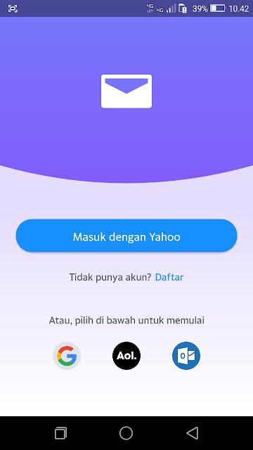 Login ke Yahoo
