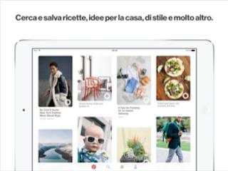 L'app Pinterest si aggiorna alla vers 7.43