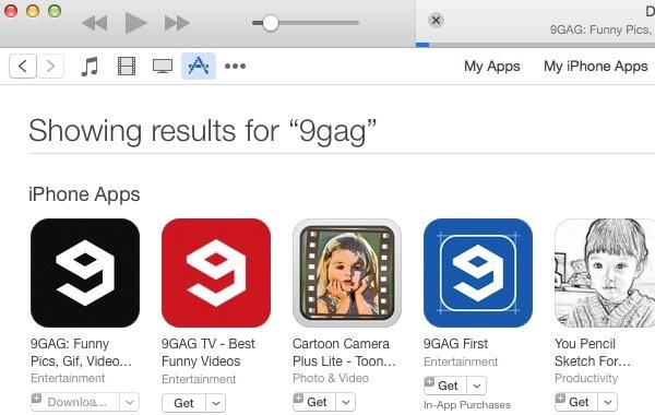 Download Aplikasi di AppStore pada iTunes