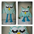 Soft Owl Plush Toy Stuffed Animal for Baby Children and Kids