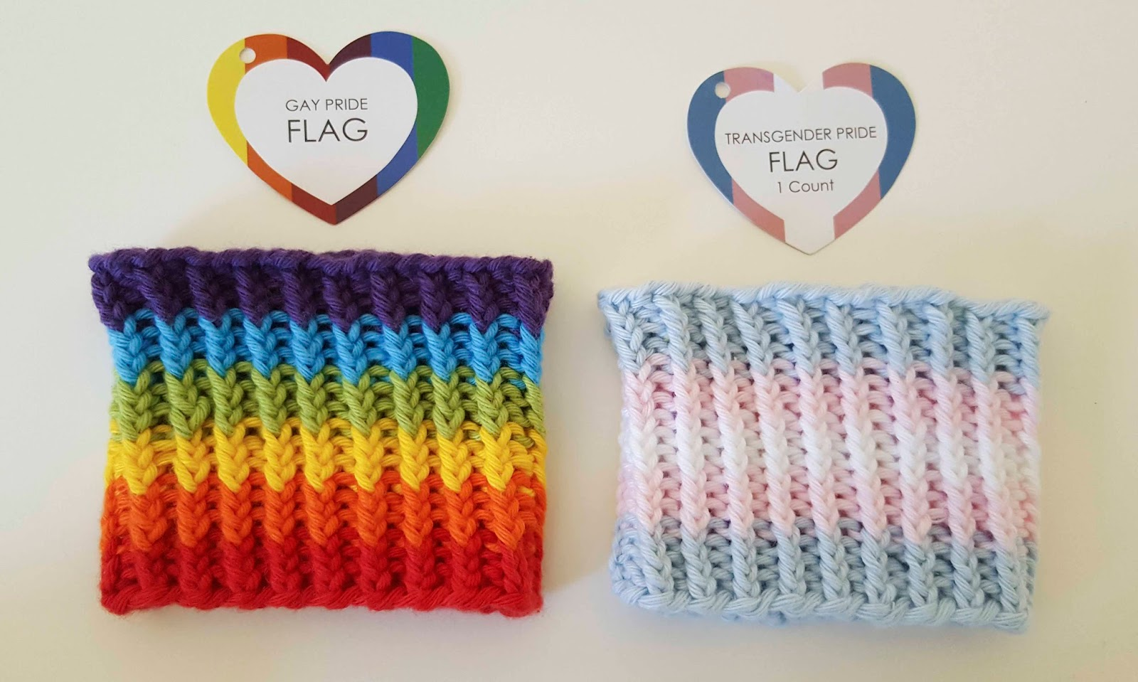 ChemKnits: Celebrate Equality Wristbands