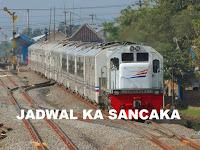 Jadwal Kereta Api Sancaka Terbaru 2019