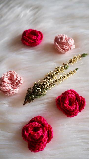 Kostenlose Anleitung für gehäkelte Rosen