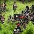 LOOK: Kampo ng Abu Sayyaf Group Natugis ng mga Militar sa Basilan
