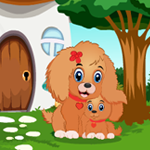G4K Cute Little Dog Rescue Game