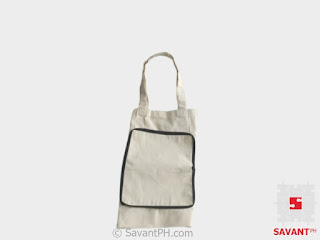Plain Canvas Foldable Tote Philippines