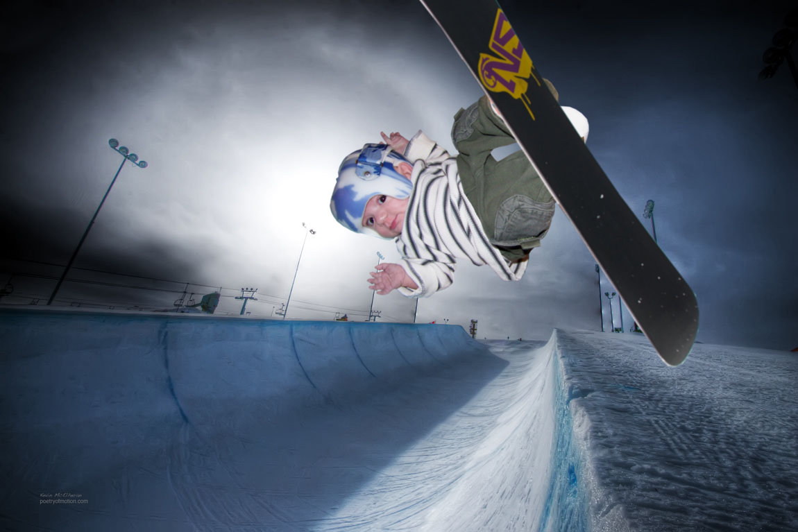 Adventures From Beyond The Crib: Half-pipe