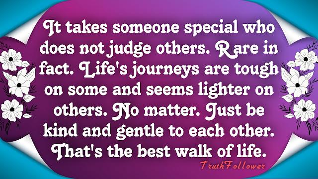 Take a step back before you judge someone