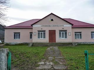 Село Плоске. Будинок культури