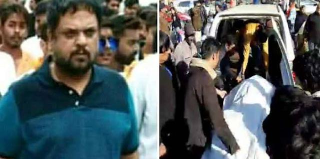 प्रॉपर्टी डीलर बन्नी सरदार की बीच मार्केट में गोली मारकर हत्या | JABALPUR NEWS