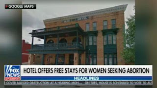 Time magazine Promotes Hotel Offer of Free Lodging for Women Getting Abortions