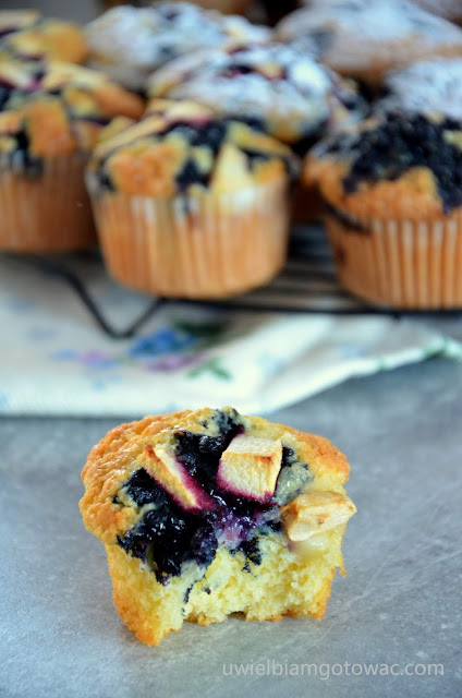 Mega pyszne muffinki z owocami