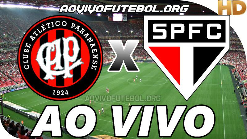 Atlético Paranaense x São Paulo Ao Vivo HDTV