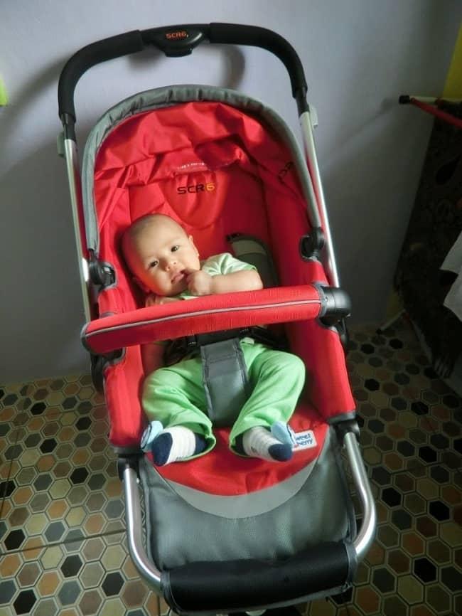 Review Beli Online Stroller Merah Sweet Cherry 6
