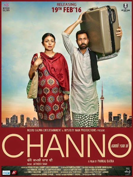 Poster of Channo Kamli Yaar Di 2016 480p Punjabi DVDRip Full Movie Download