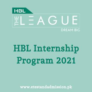 hbl the league internship program 2021
