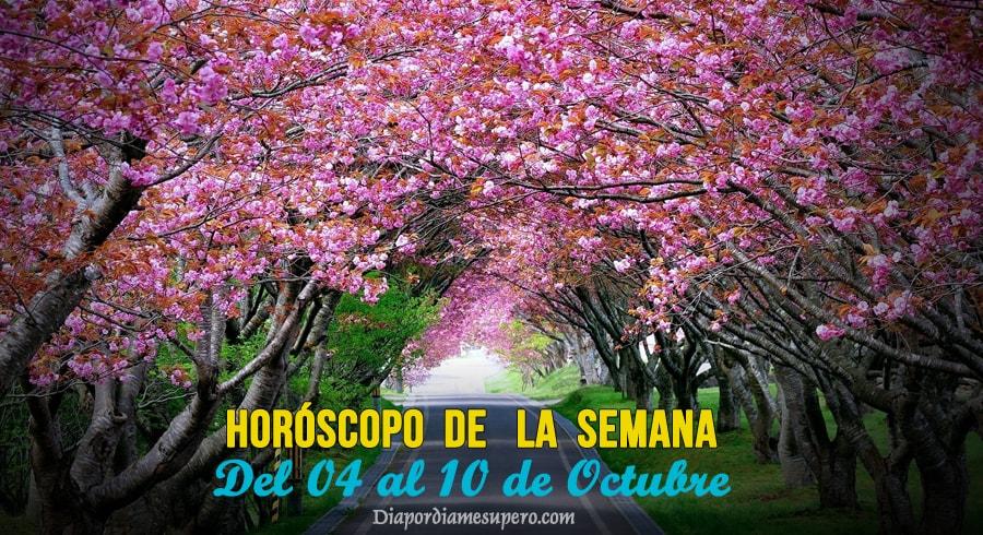 Horóscopo de la semana: Del 04 al 10 de octubre