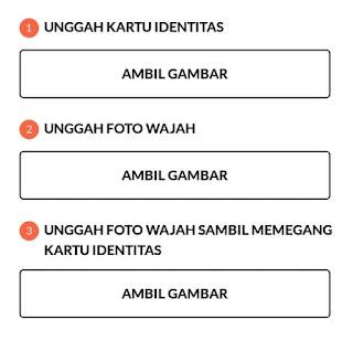 Berkas Dokumen Verifikasi KTP dan Selfie