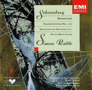 Arnold Schoenberg, Erwartung, Chamber Symphony #1, Orchestral Variations, EMI
