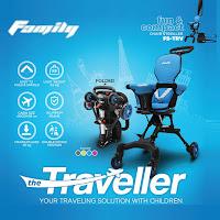kursi dorong bayi family traveller chair stroller