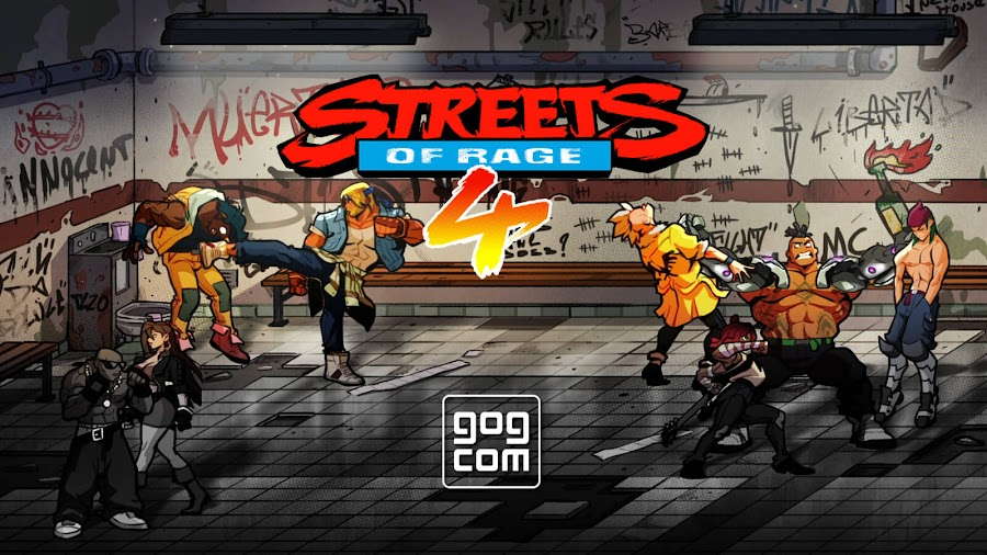 streets of rage 4 gog version pc no online multiplayer classic side-scrolling beat 'em up dotemu guard crush games lizardcube sega