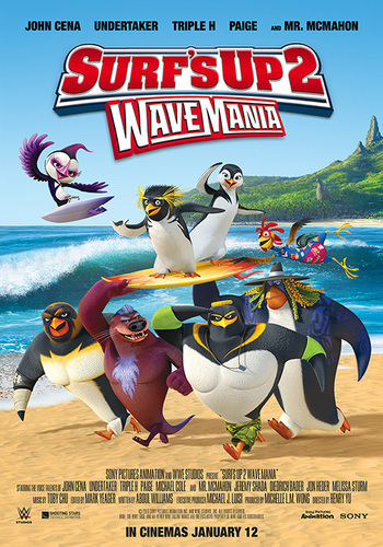 Surf's Up 2: WaveMania (Web-DL 720p Español Latino) (2016)