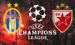 «Тирана» — «Црвена Звезда»: прогноз на матч, где будет трансляция смотреть онлайн в 21:00 МСК. 25.08.2020г.