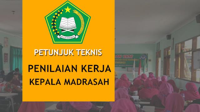 Petunjuk Teknis Penilaian Kinerja Kepala Madrasah