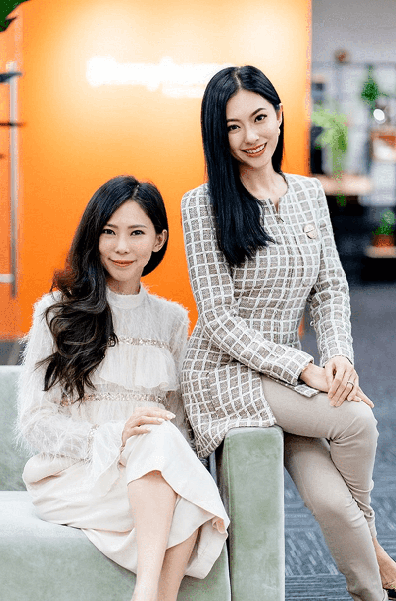 Rhonda and Race Wong, co-founders of Ohmyhome