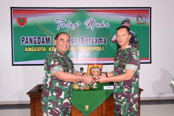 Pangdam XIV/Hsn, Kunker Hari Senin Di Makorem 141/Tp- Bone