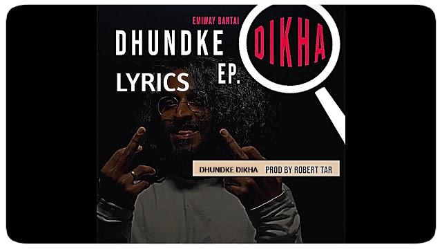 Dhundke Dikha Lyrics