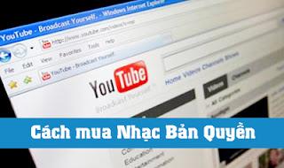 Cách mua Nhạc Bản Quyền cho Youtube và Facebook