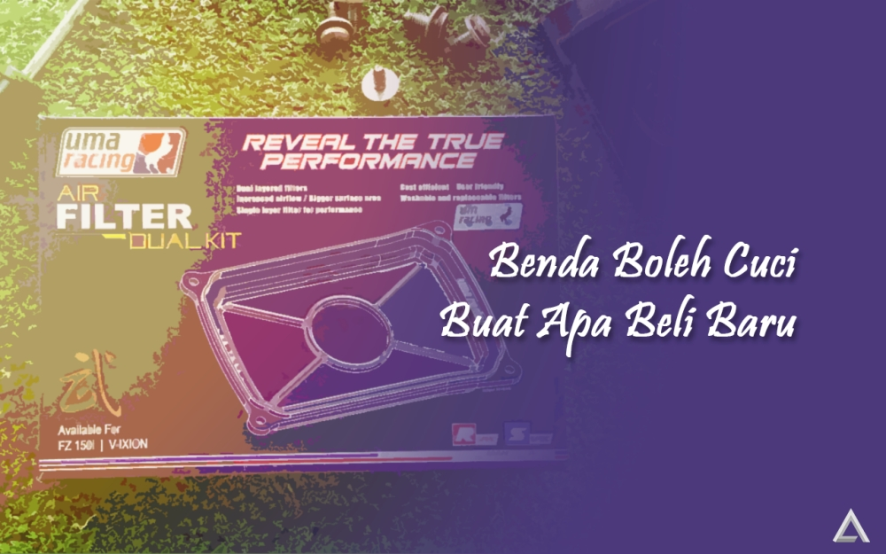 Beralih ke Uma Racing Air Filter Dual Kit Untuk FZ150i 2014
