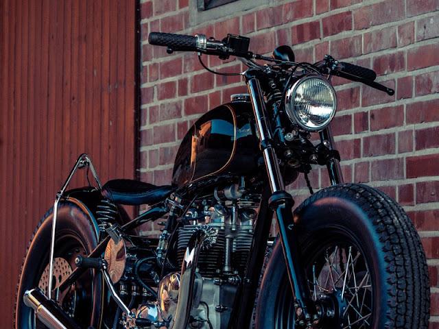 Triumph T100 1953 By HB Custom Hell Kustom